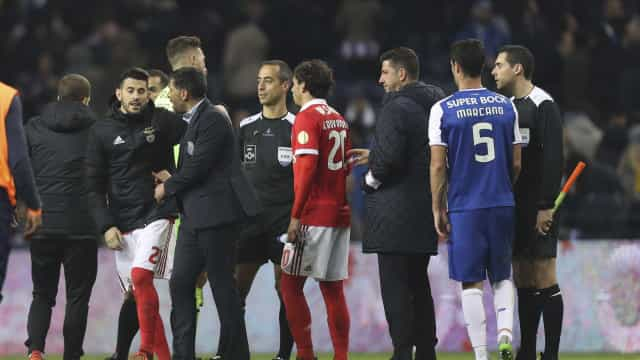 Benfica estranha que o estádio do Dragão não tenha sido interdito