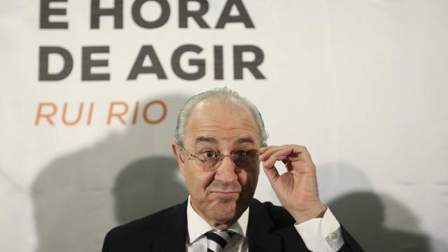 """Rio critica militantes que ficam """"debaixo da mesa ou atrás da cortina"""""""