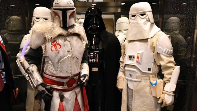 'Star Wars' entra em 2018 no 1.º lugar de receitas de bilheteira nos EUA
