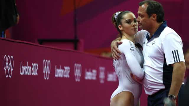 Equipa norte-americana terá pagado a McKayla para não revelar abusos