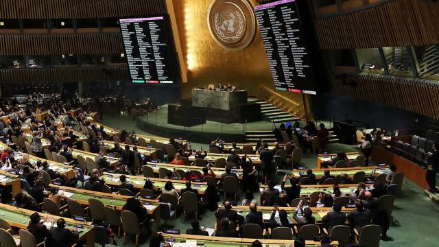 """ONU aprova voto condenatório aos EUA. """"Vamos lembrar-nos disto"""""""