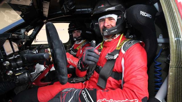 André Villas-Boas sofre acidente no Dakar