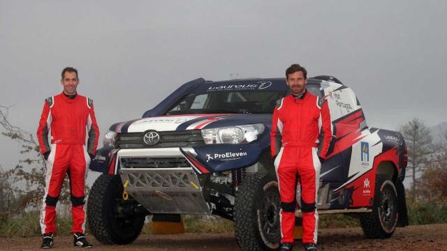 André Villas-Boas apresenta a máquina que usará no Dakar 2018
