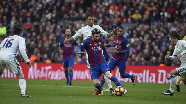 El Clásico: CR7 e Messi terão câmara para cada um durante todo o jogo