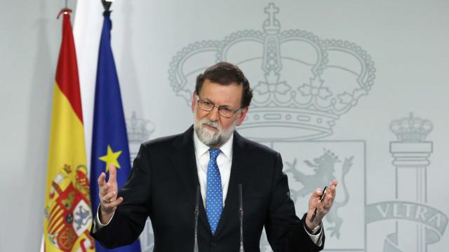 """""""O governo de Espanha oferece a sua colaboração e diálogo dentro da lei"""""""