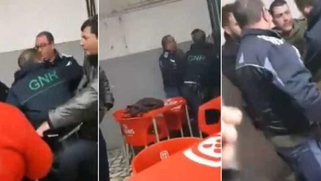 Militares da GNR feridos ao identificarem suspeito de violência doméstica