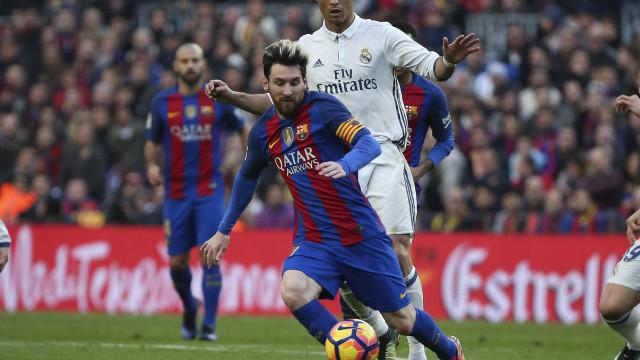 A mensagem de Messi depois do Clássico com o Real Madrid