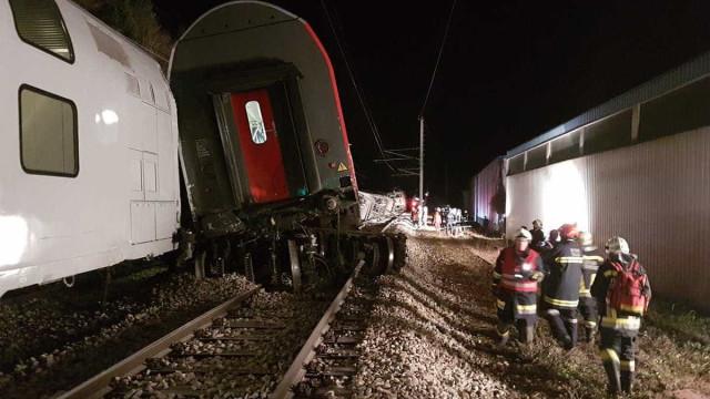 Viena: Colisão ferroviária faz pelo menos 12 feridos, 4 em estado grave