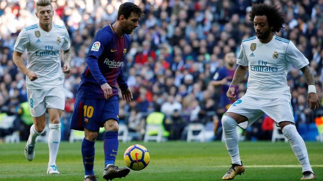 Messi supera Ronaldo nos golos marcados em 2017