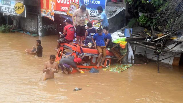 Tempestade tropical fez mais de 200 mortos no sul das Filipinas