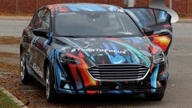 O novo Ford Focus está aí e já há fotografias oficiais