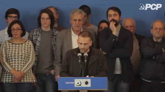 """PCP: """"só sobrarão promessas"""" se Governo continuar """"amarrado"""" ao défice"""