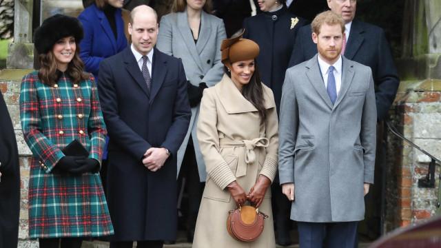 O primeiro Natal de Meghan Markle com a família real