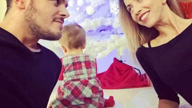 Laura Figueiredo felicita Mickael com foto inédita do início da relação