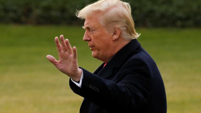 """Trump recebido em Davos """"como os outros chefes de Estado"""""""