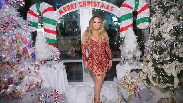 Sabe quanto é que Mariah Carey já ganhou com o seu êxito de Natal?