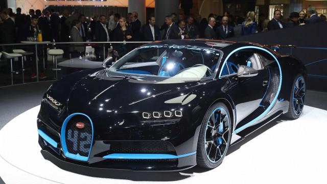 Já foram entregues 70 Bugatti Chiron