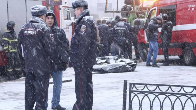 Homem barrica-se em fábrica depois de matar uma pessoa em Moscovo