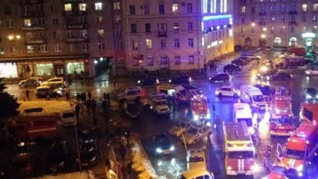 Explosão em supermercado em São Petersburgo faz pelo menos 10 feridos