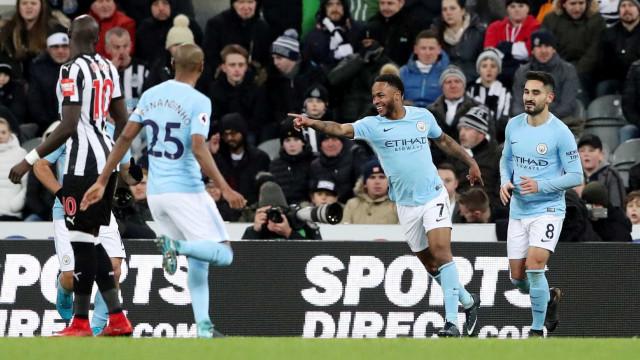 'Top10' dos mais bem pagos da Premier League: Sterling quer ser sexto