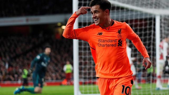 A emocionante e arrepiante despedida de Coutinho do Liverpool