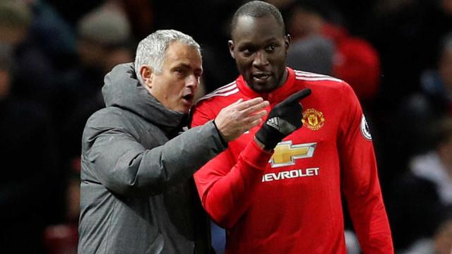 """Lukaku deixa recado à equipa: """"Discutiram com Mourinho? Lidem com isso"""""""
