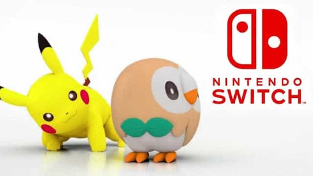 Nintendo Switch receberá dois jogos 'Pokémon' já em 2018