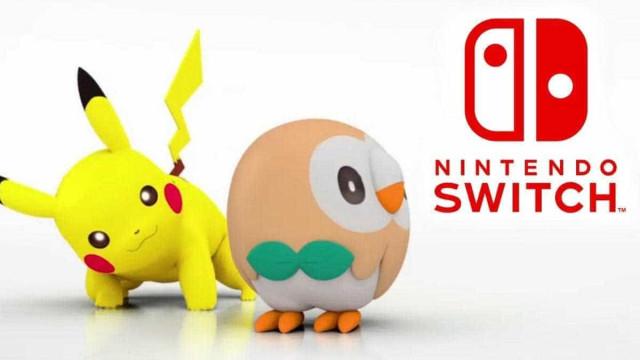 'Pokémon' chega à Switch em 2019