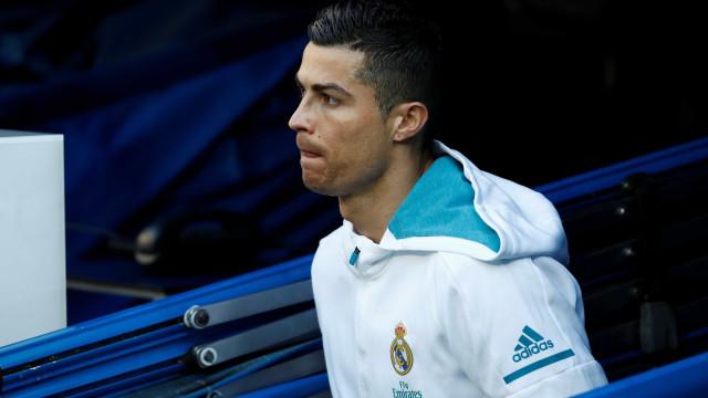 Confirmado: Cristiano Ronaldo falha Leganés