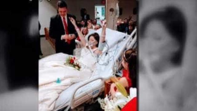 Jovem em fase terminal morre 8 horas depois de dizer o 'sim' no hospital