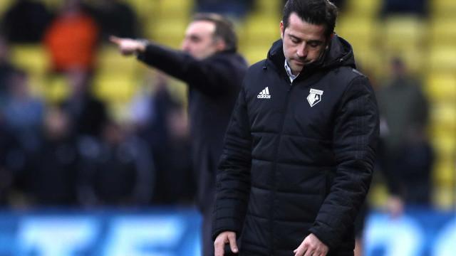 Os números que sustentam a decisão do Watford em despedir Marco Silva