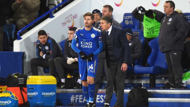 Quatro meses depois, Adrien Silva estreia-se pelo Leicester City
