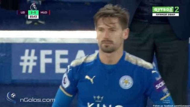 Assim foram os primeiros minutos de Adrien ao serviço do Leicester