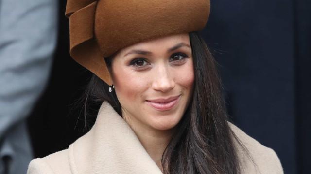 Meghan Markle considerada a mulher mais atraente da realeza britânica