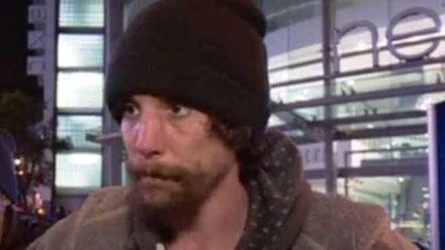 Sem-abrigo 'herói' de Manchester que afinal roubou vítimas foi condenado