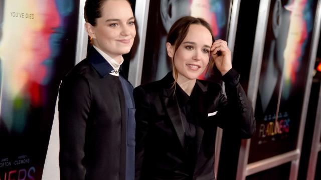 Ellen Page alvo de comentários homofóbicos por partilhar foto romântica