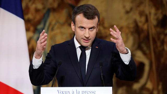 """Macron manifesta """"imenso orgulho"""" na vitória do 'não' na Nova Caledónia"""