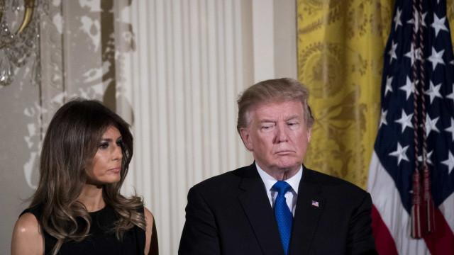 Melania chorou de tristeza quando Donald Trump foi eleito Presidente?