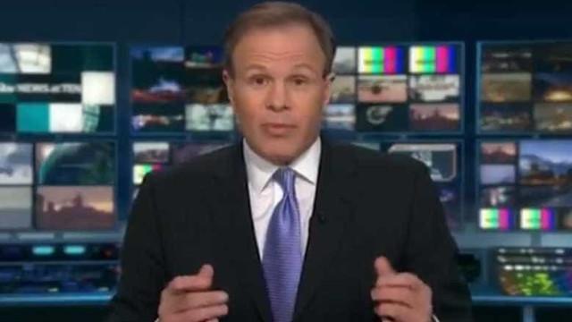 Alarme de incêncio obriga pivot a interromper telejornal