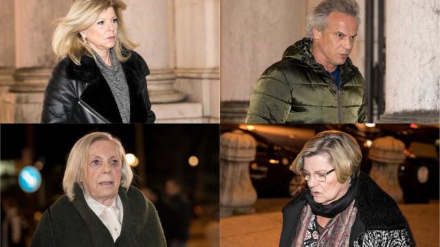As imagens que marcaram o adeus à atriz Guida Maria