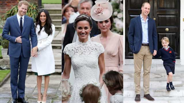 Eis os melhores momentos familiares da realeza britânica