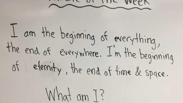 Resposta de aluno do 1.º ciclo deixou professor e a sala em silêncio