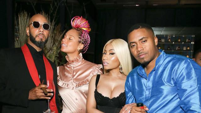 Nicki Minaj e rapper Nas já não são um casal