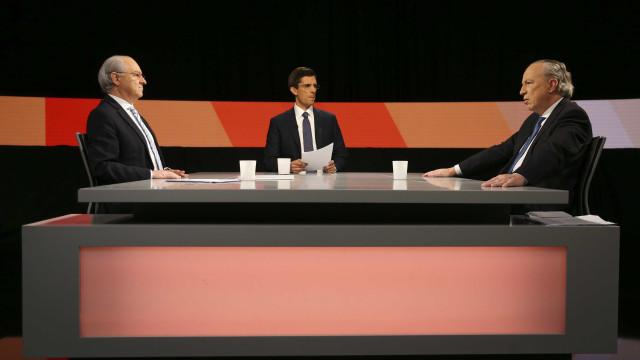 Rui Rio vs Pedro Santana Lopes: O primeiro debate