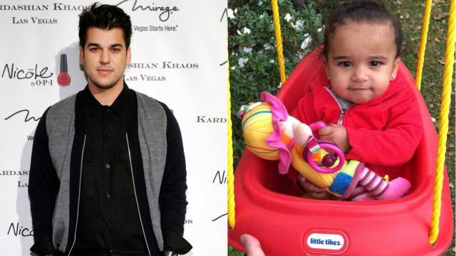 Rob Kardashian faz rara aparição no Twitter com vídeo fofo da filha