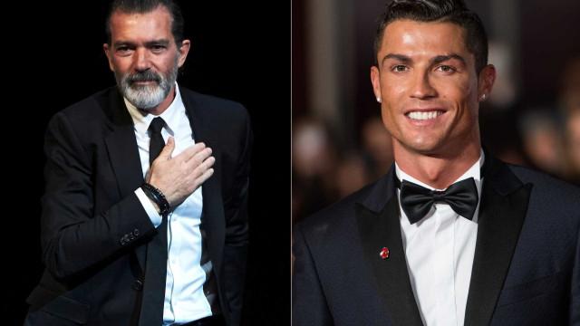 O novo 'brinquedo' de Antonio Banderas que é igual ao de Ronaldo