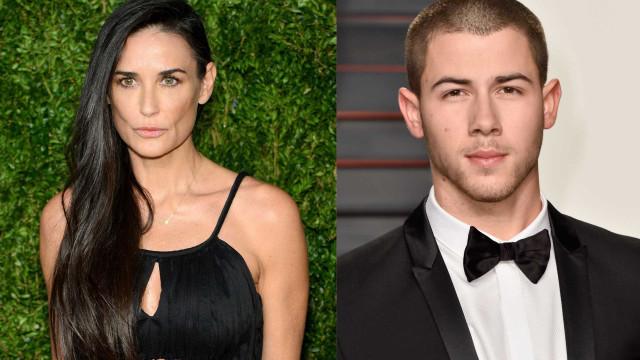 Demi Moore estará a namorar com Nick Jonas, 30 anos mais novo