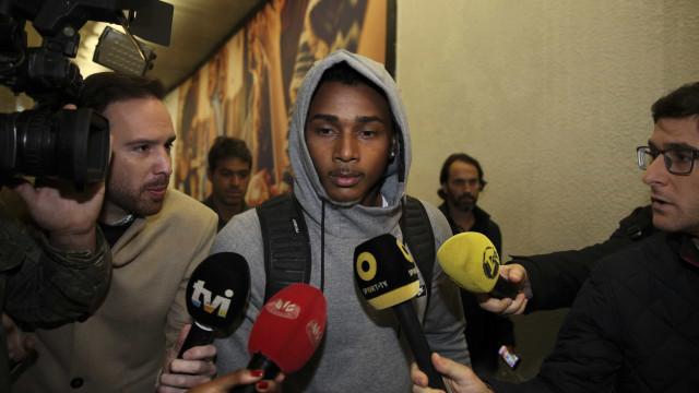 Wendel já está em Lisboa, vai cumprir testes médicos e assinar