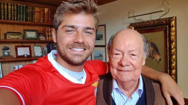 """Lourenço Ortigão sobre morte do avô: """"Fez-nos sorrir até ao último dia"""""""