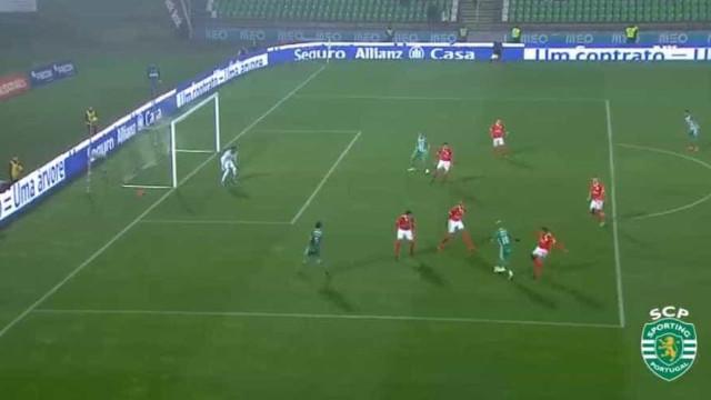 Sporting mostra aquilo de que Rúben Ribeiro, Wendel e Misic são capazes